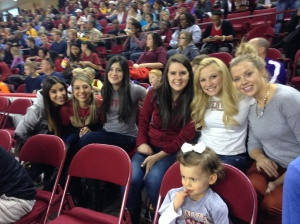 Our most recent DU Cheer Alum get together